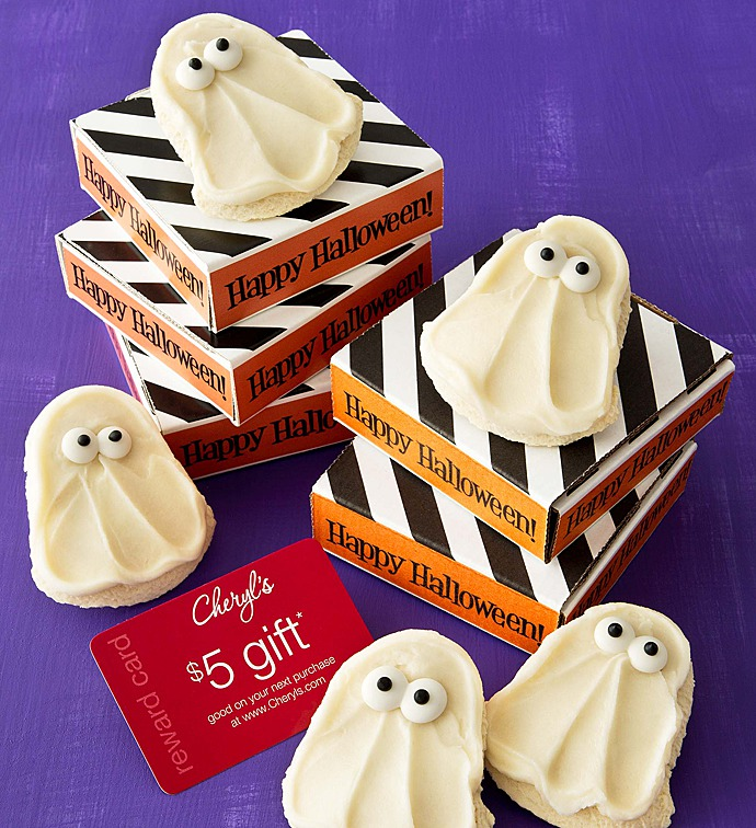 Photo of Halloween party favor cookie cards