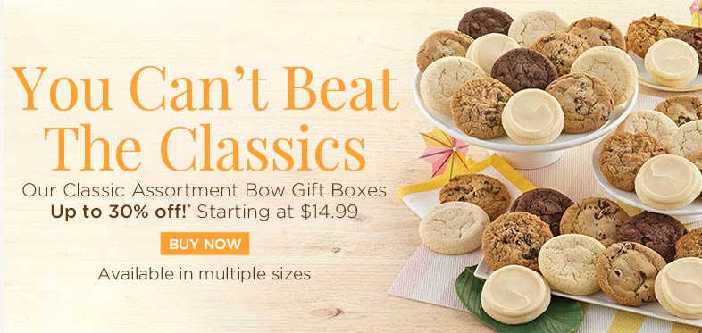 Ad for Cheryl's classic cookies