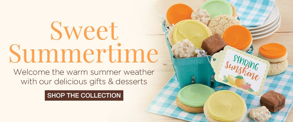 Photo of summertime cookies