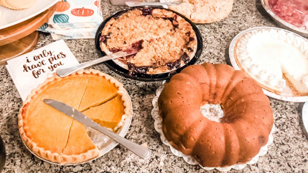 Photo of pie party