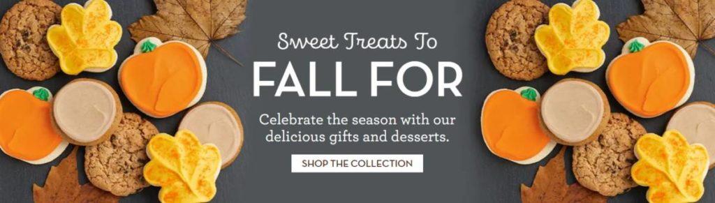Fall cookies ad