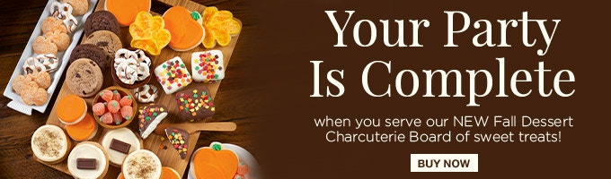 Fall cookies banner ad