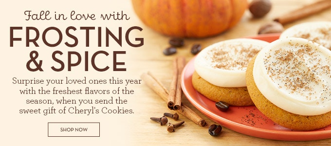 Frosting & Spice fall flavors ad