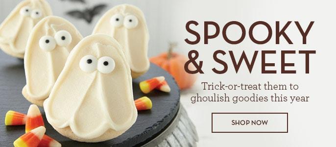 Photo of Halloween cookie ad