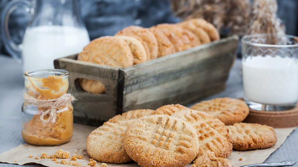 Photo of peanut butter cookies