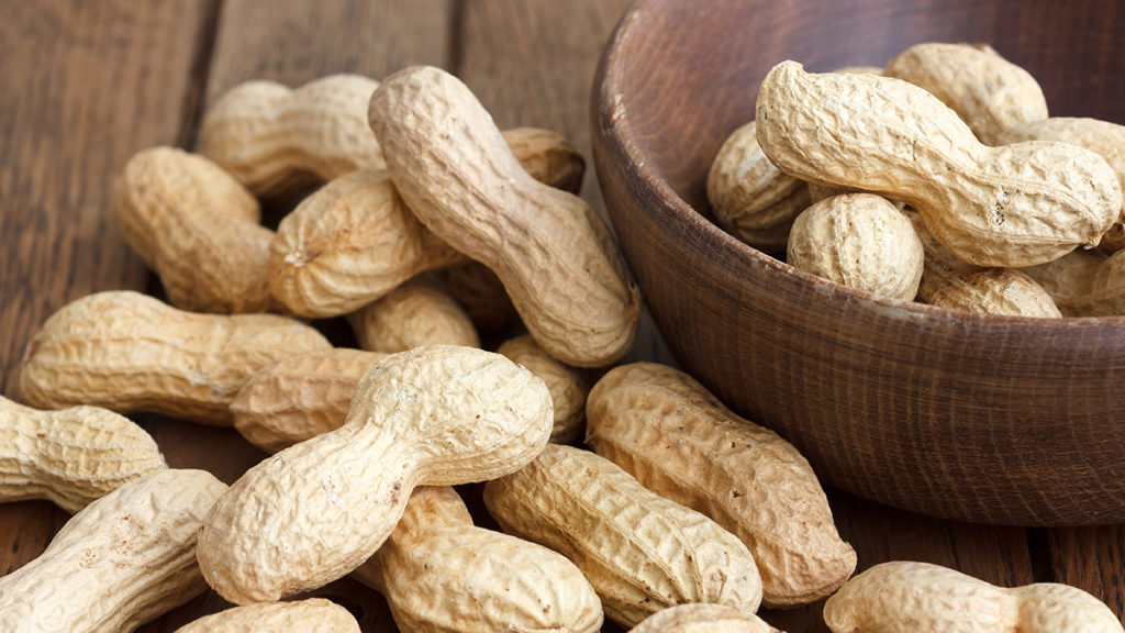 Photo of peanuts in the shell