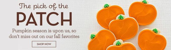 Pumpkin cookies ad