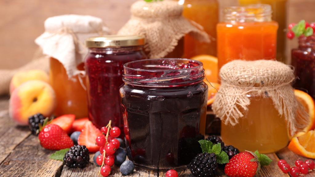 Photo of homemade jam