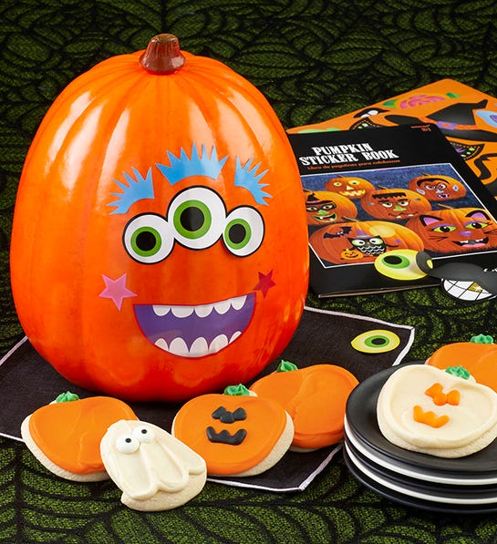 Photo of pumpkin decorating diy kit