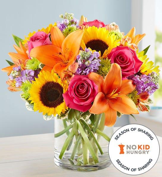 Photo of floral embrace bouquet