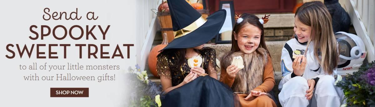 Halloween cookies ad